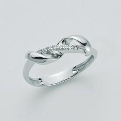 Miluna  - Anello in Oro 18Kt e Diamanti - LID2331