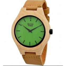 Zzero - Orologio Green Time Color Wood - ZW027A
