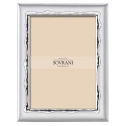 Sovrani - Cornice Bilaminato Argento - B663