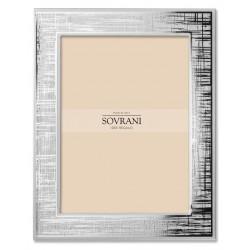 Sovrani - Cornice Bilaminato Argento - W478