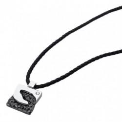 Morellato - Collana Shade Acciaio Con Diamante Naturale - SI202