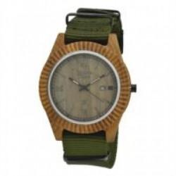 Zzero - Orologio Green Time Vintage Uomo - ZW010C