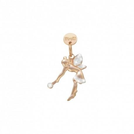 Stroili  - Charm in argento 925 Rosè e Glitter - Esprimi Un Desiderio - 1629616