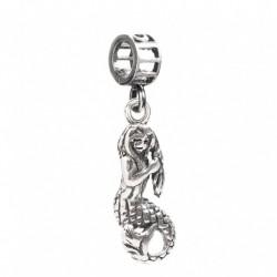 Tedora  - Charm in Argento 925 Sirenetta - TS092