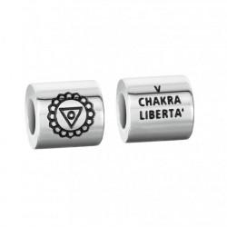 """Stroili - Elemento Componibile Uomo""""Chakra Liberta"""" In Acciaio e Smalto Man Code - 1661402"""
