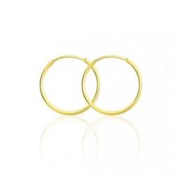 Stroili - Orecchini a Cerchio in Oro Giallo Toujour - 1401006