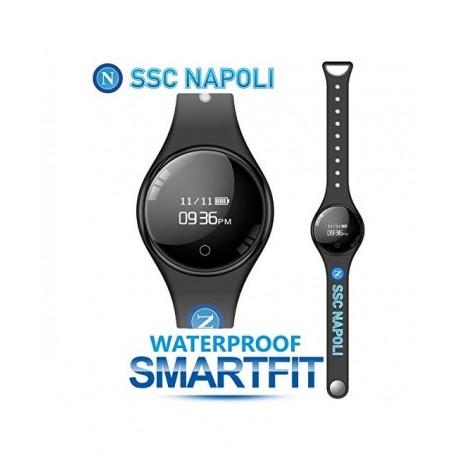 Techmade - Bracciale SmartFit SSC Napoli Nero - TM-FREETIMENAP-BK