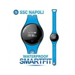 Techmade - Bracciale Orologio SmartFit SSC Napoli Azzurro - TM-FREETIMENAP-LBL