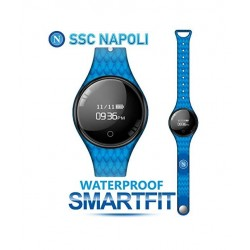 Techmade - Bracciale Orologio SmartFit SSC Napoli Blù Azzurro - TM-FREETIMENAP-PBL