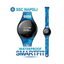 Techmade - Bracciale Orologio SmartFit SSC Napoli Azzurro Blù - TM-FREETIMENAP-SQ
