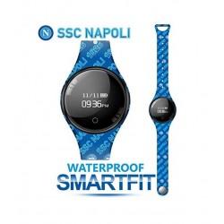 Techmade - Bracciale Orologio SmartFit SSC Napoli Blù - TM-FREETIMENAP-WRIT