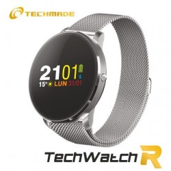 Techmade - Orologio Smartwatch R1 Metal SIilver - TECHWATCHR1-MSIL