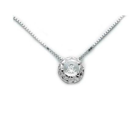 più economico 5d3e5 557b1 Miluna - Collana Punto Luce Diamante - CLD4064-010G7 - La Galleria Del  Gioiello