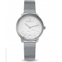 Ops Objects - Orologio Solo Tempo Donna Bold Heart - OPSPW-593
