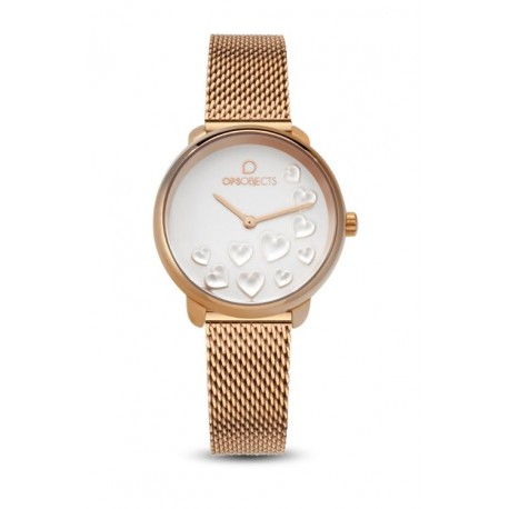 Ops Objects - Orologio Solo Tempo Donna Bold Heart - OPSPW-595