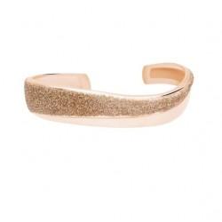 Stroili - Bracciale Rigido in Ottone e Glitter Bronzo Soft Dream - 1664583