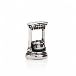 Tedora  - Charm in Argento 925 Pozzo di Pienza  - BV323