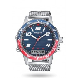 Vagary By Citizen - Orologio Multifunzione Navy Pilot - IP3-017-71