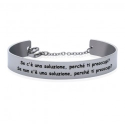 Stroili - Bracciale Rigido con frase incisa Lady Message  - 1663093