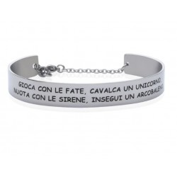 Stroili - Bracciale Rigido con frase incisa Lady Message - 1663111