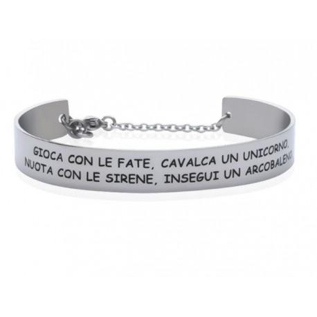 Stroili - Bracciale Rigido con frase incisa Lady Message - 1663111
