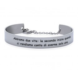 Stroili - Bracciale Rigido con frase incisa Lady Message - 1663098