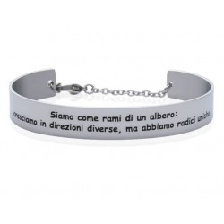 Stroili - Bracciale Rigido con frase incisa Lady Message - 1663108