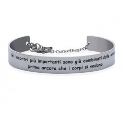 Stroili - Bracciale Rigido con frase incisa Lady Message - 1663101