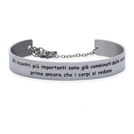 Stroili - Bracciale Rigido con frase incisa Lady Message - 1663101