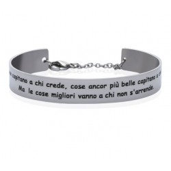 Stroili - Bracciale Rigido con frase incisa Lady Message - 1663105