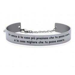 Stroili - Bracciale Rigido con frase incisa Lady Message - 1663103