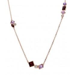 Stroili - Collana Con Pietre Violet - 1665805