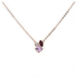 Stroili - Collana  Con Pietre Violet - 1665807