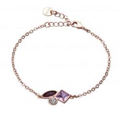 Stroili - Bracciale Con Pietre Violet - 1665802