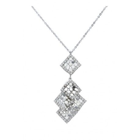 Stroili - Collana Con Pendenti Rombo Rock Shine - 1666154