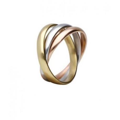 Stroili - Anello a Tre Colori  Lady Code - 1666042