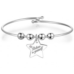 S'agapò - Bracciale Rigido Donna Be My Always - SBM37