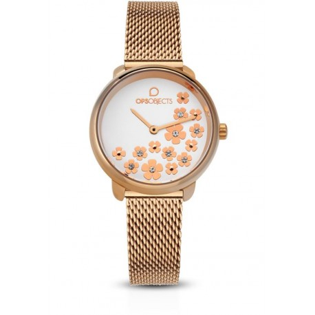Ops Objects - Orologio Solo Tempo Donna Bold Flower -