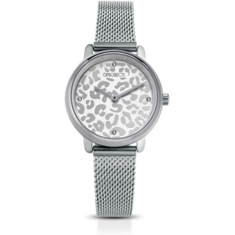 Ops Objects - Orologio Solo Tempo Donna  Bold Animalier - OPSPW-627