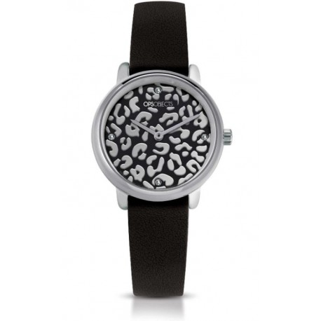 Ops Objects - Orologio Solo Tempo Donna Bold Animalier - OPSPW-630