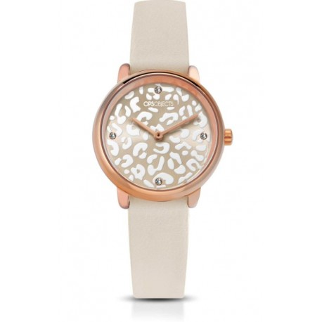 Ops Objects - Orologio Solo Tempo Donna Bold Animalier - OPSPW-631