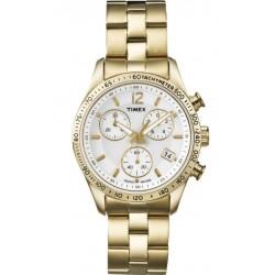 Timex - Orologio Cronografo Donna  - T2P058