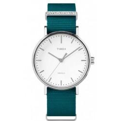 Timex - Orologio Solo Tempo Donna  Fairfield Crystal - TW2R49000