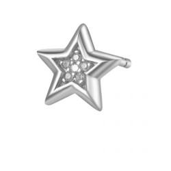 Rosato - Orecchino a Lobo a Forma di Stella Storie - RZO026R