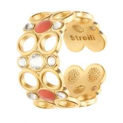 Stroili - Anello Con Cristalli e Smalto Crystal Bubble - 1669110