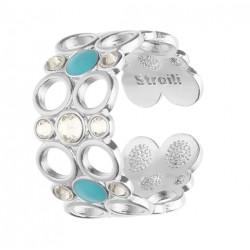 Stroili - Anello Con Cristalli e Smalto Crystal Bubble - 1669113