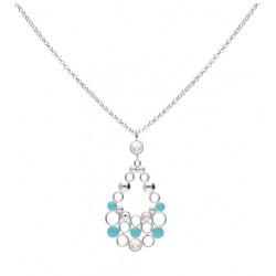 Stroili - Collana Lunga Con Cristalli e Smalto Crystal Bubble - 1669111