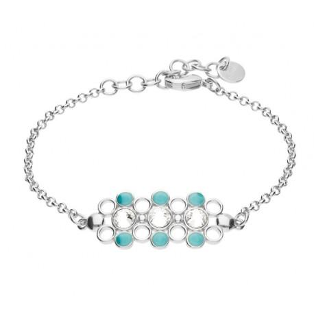 Stroili - Bracciale Con Cristalli e Smalto Crystal Bubble - 1669144