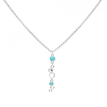 Stroili - Collana Con Cristalli e Smalto Crystal Bubble - 1669120