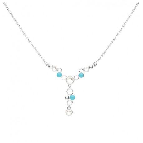 Stroili - Collana Con Cristalli e Smalto Crystal Bubble - 1669122